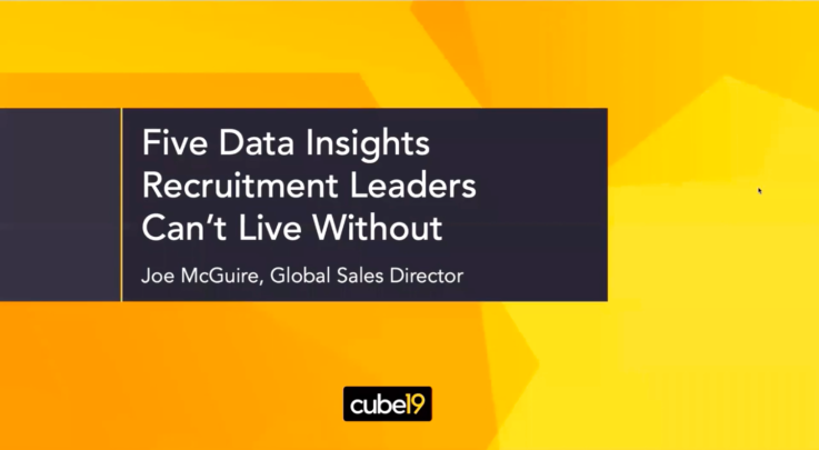 Five Data Insights Recruitment Leaders Cannot Live Without